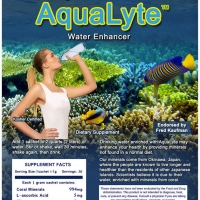 AquaLyte nutraceutical product label