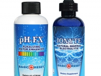 Ionyte neutraceutical bottle labels