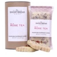 The Shortbread Shop Product Labels - Rose tea