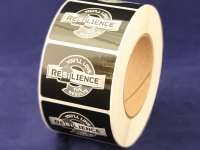 Resilience 1-color label