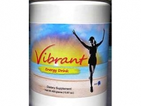 VIBRANT ENERGY DRINK nutraceutical package label