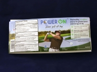 Power-On product label
