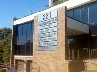 Contour Cut Metal Building Sign