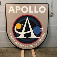 Apollo anniversary sign 2