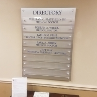 Hughston Clinic Directory Sign