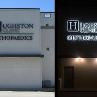 Hughston Clinic Building Signs