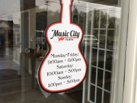 Music City Flats Window Decal