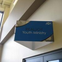 Joy Church Directional Sign