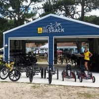 KOA Bike Shack Building Sign