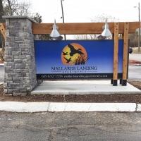 Mallards Landing Apartments Entrance Sign