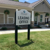 Rivendell Leasing Office Sign