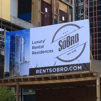 SOBRO commercial real estate sign