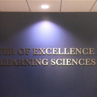 TSU Cut Out Laminated Lettering