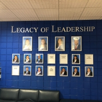TSU leadership wall