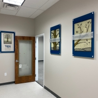 WPS acrylic wall signs