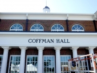 Welch College Building letters - Coffman Hall