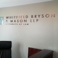 Whitfield Wall Lettering