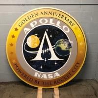 Apollo anniversary sign