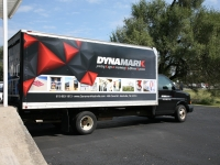 Dynamark Box Truck Wrap