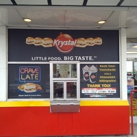 Krystal Drive Thru Window