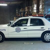 TCMC security vehicle graphics