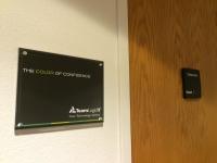 Team Logic Indoor Sign