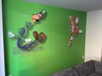 21c Museum Hotel Kids Room Wall Mural