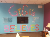 GiGi's Playhouse Wall graphics