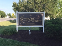 Green Meadow Monument Sign