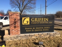 Griffin Monument Sign