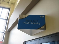 Joy Church Directional Sign