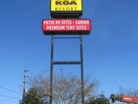 KOA Pylon Sign 2
