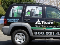 Team Logic Vehicle Graphics