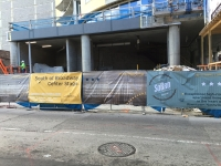 SOBRO construction barrier banners