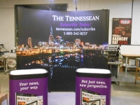 Tennessean Trade Show Display