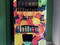 The Cedars Vending machine Wrap