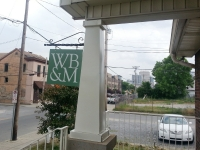 Whitfield exterior sign