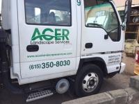 ACER Isuzu Truck graphics