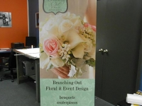 Branching Out Banner Stand