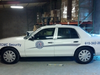 TCMC security vehicle graphics