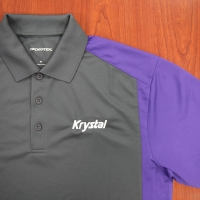 Gray and Purple Krystal shirt