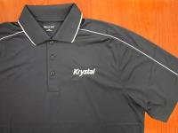 Gray with Piping Krystal shirt