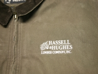 Hassell & Hughes Jacket Embroidery