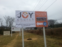 Joy Church Banner
