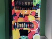 The Cedars Vending machine Wrap