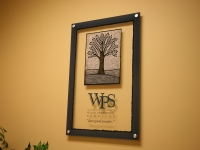 Wood Personnel Acrylic Sign