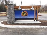 Mallards Landing Apartments Entrance Sign
