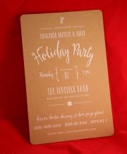 Loveless Holiday Invitation