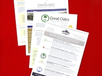 Medical Industry Printed Flyer Collection