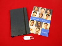 Mission Point Leather Notebook, Booklet and Promo